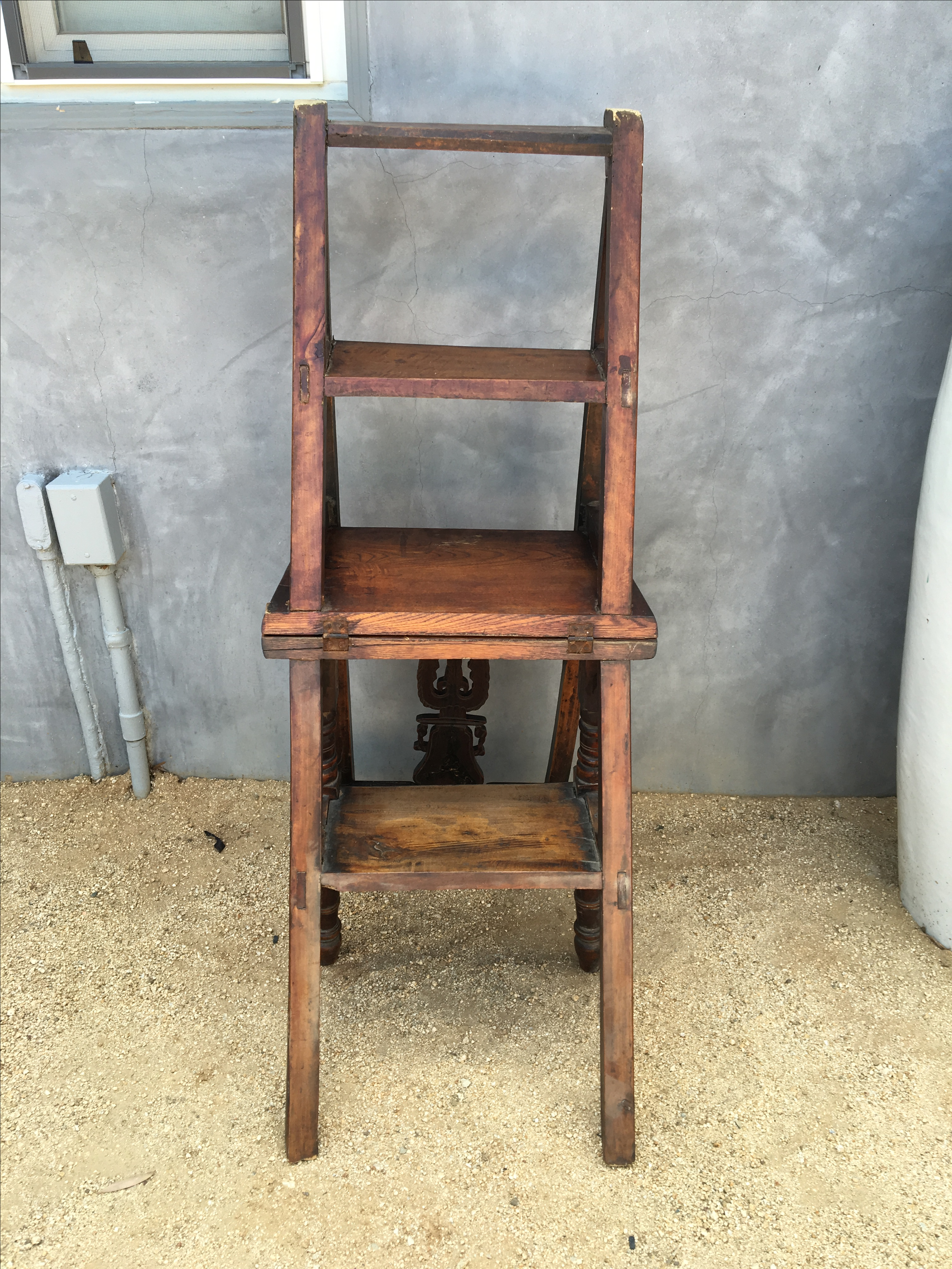 Chinese Library Ladder Chair   Image 7 Of 8