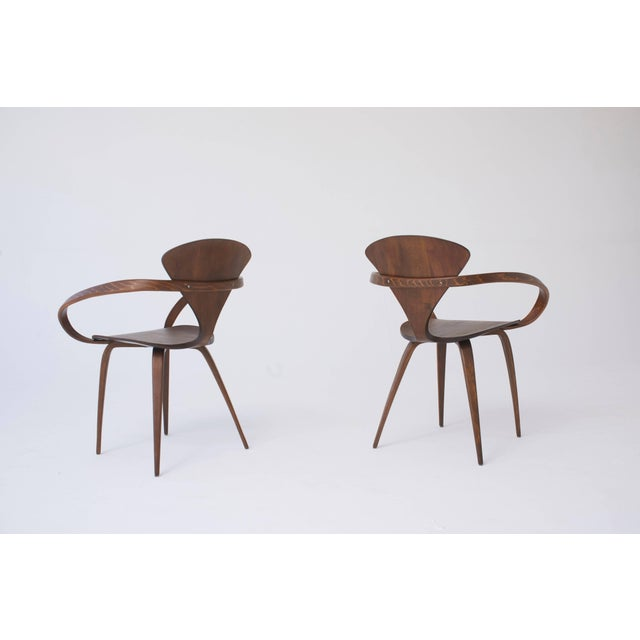 Norman Cherner Set of Eight Norman Cherner Dining Chairs, Made by Plycraft in the Usa, 1960s For Sale - Image 4 of 9