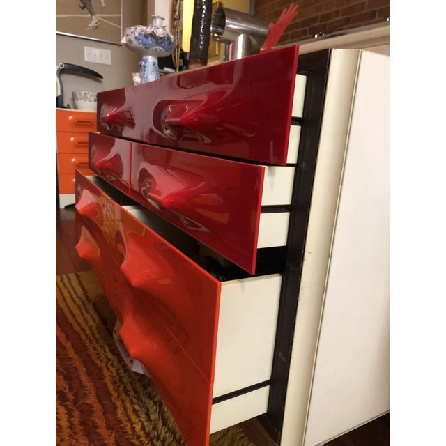Mid-Century Modern 1960s Raymond Loewy Chest Of Drawers For Sale - Image 3 of 11