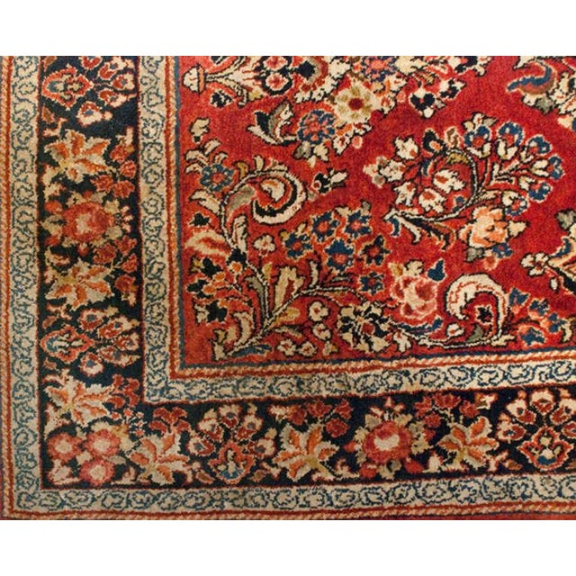 """1930s Early 20th Century Sarouk Runner - 46"""" x 156"""" For Sale - Image 5 of 5"""