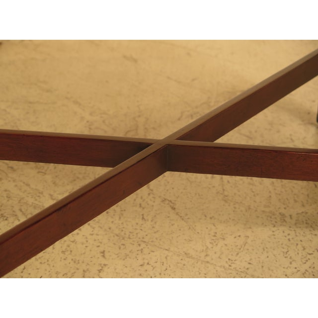 Kittinger Chippendale Mahogany Butler Coffee Table - Image 6 of 11