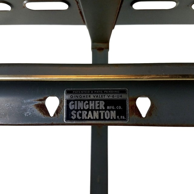 Vintage Gingher of Scranton Coat Rack is the perfect industrial touch to your home or office. Room for six hangers and...