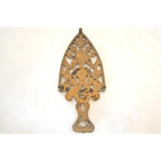 Antique Cast Iron Trivet - Image 3 of 4