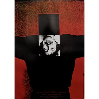 1989 Original Poster for Artis 89's Images Internationales Pour Les Droits De l'Homme Et Du Citoyen - Article 5 For Sale