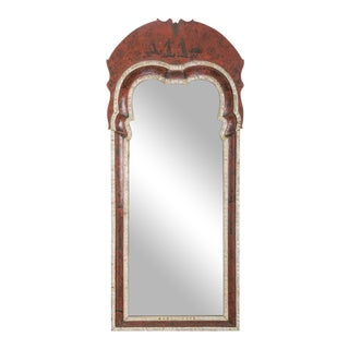 Late 18th Century Queen Anne Chinoiserie Mirror For Sale