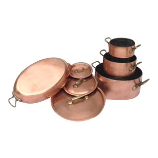 E. Dehillerin French Copper Cookware - For Sale