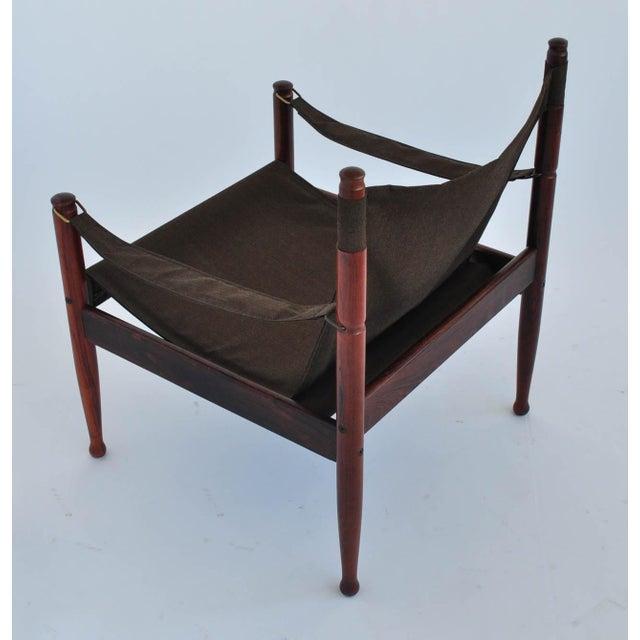 Erik Worts Rosewood Safari Sling Chair - Pair - Image 10 of 10