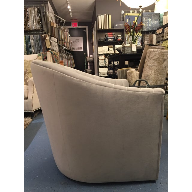 This sensuous Weiman swivel is a head turner! You won't miss a thing, your new favorite perch has you covered at any...