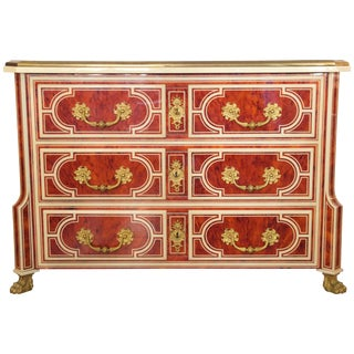2000 Mazarine Chest of Drawers in the of Style Jean Claude Mahey