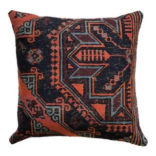Large Turkish Wool Rug Pillow