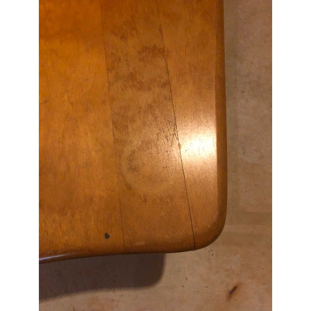 1950s 1950s Vintage Mid-Century Modern Heywood-Wakefield Side Table For Sale - Image 5 of 9