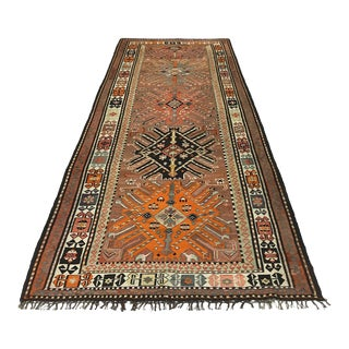 Mid-Century Turkish Kilim | 5'6 X 12'4 For Sale