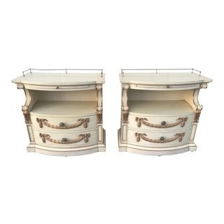 Karges French Style Nightstands - A Pair