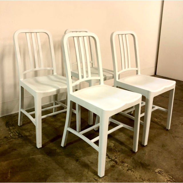 Emeco Emeco Navy 111 Chair For Sale - Image 4 of 5