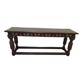 Jacobean Library Table