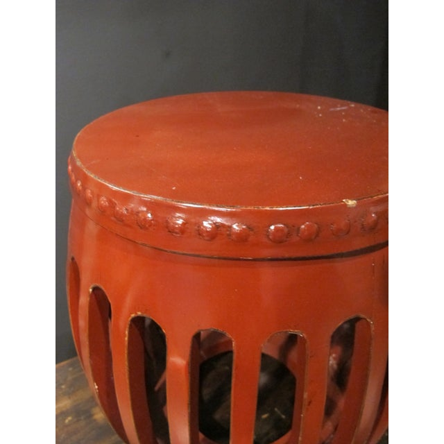 This cute little Chinese stool is extremely versatile. Can use as a plant stand, as a stool or as a side table....