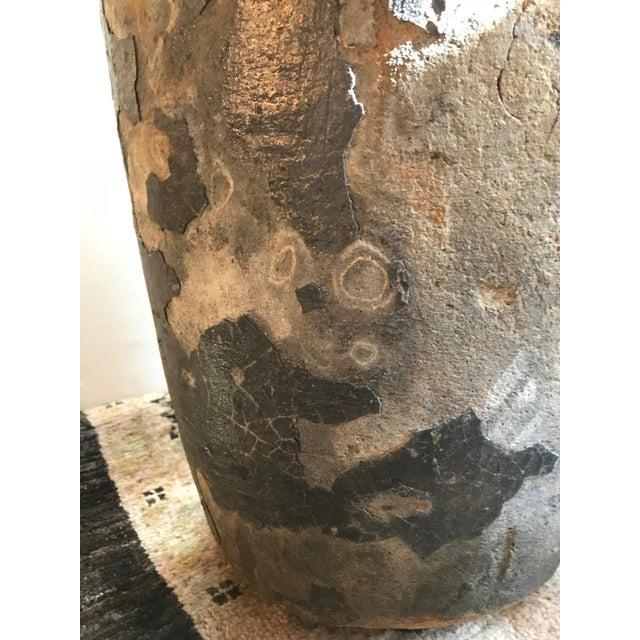 Weathered Smelting Pot For Sale - Image 4 of 6