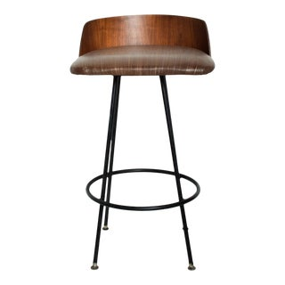Mid-Century Modern Walnut Bar Stool by Chet Beardsley For Sale