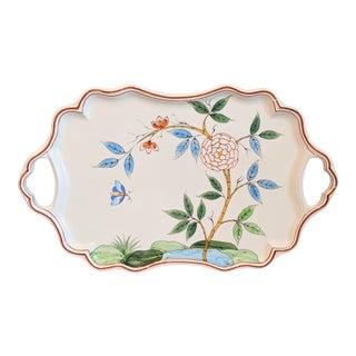 1970s Tiffany & Co Este Ceramiche China Platter Tray For Sale