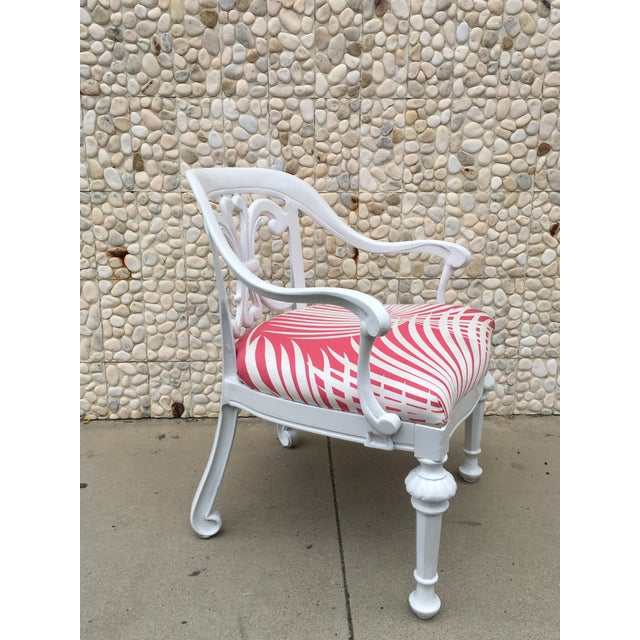 Set of 4 Dorothy Draper Rare Patio Chairs Made by Kessler For Sale In Palm Springs - Image 6 of 9