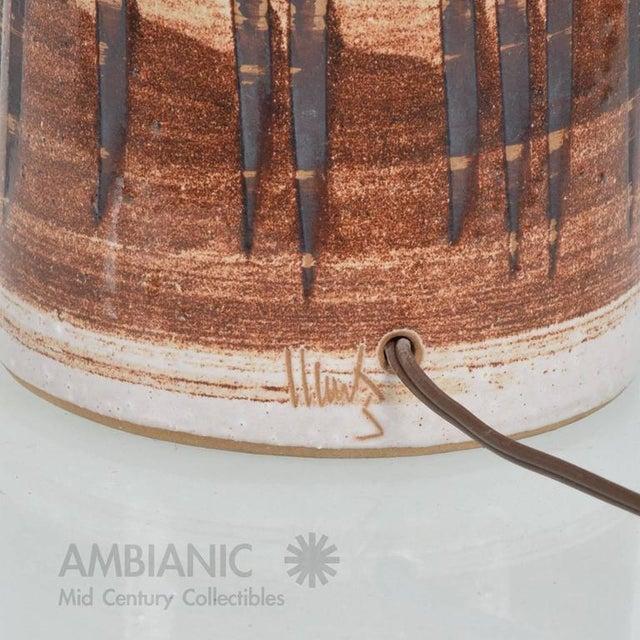 Mid-Century Gordon Martz Ceramic Table Lamp For Sale In San Diego - Image 6 of 6