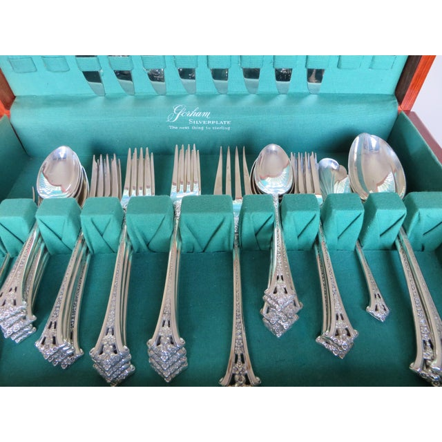 Gorham Sterling 48 Pieces In A Box Set For Eight Classic