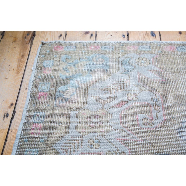 "Gold Leaf Distressed Oushak Rug - 4'3"" X 6'9"" - Image 5 of 5"