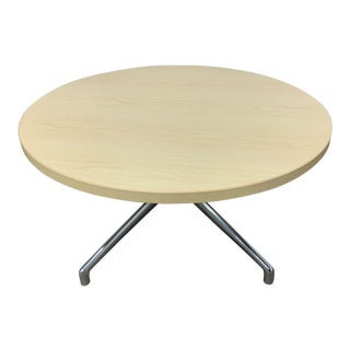 Mid-Century Modern Steelcase Maple Coffee Table For Sale