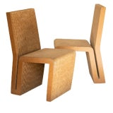 Image of Easy Edges Cardboard Chair by Frank Gehry, Early 1970s Model For Sale