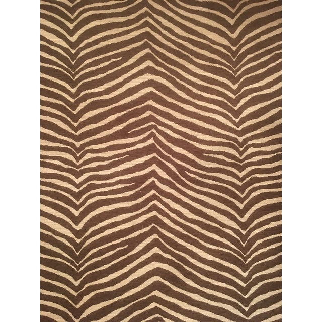 """""""Pelt Zebra"""" by Fabricut Fabric by the Yard For Sale - Image 4 of 6"""