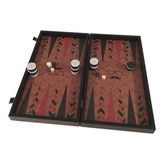 Greek Monopoulous Backgammon Game