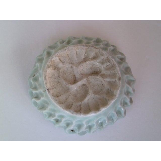Hand Formed Celadon Bowl - Image 7 of 7