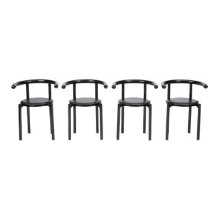 Kartell Dining Chairs by Anna Castelli Ferrieri For Sale