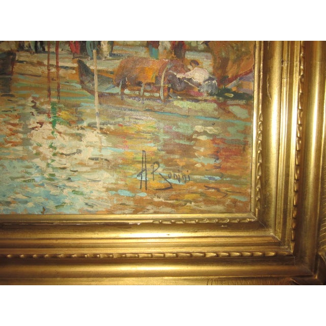 Venice Oil Painting For Sale - Image 4 of 4