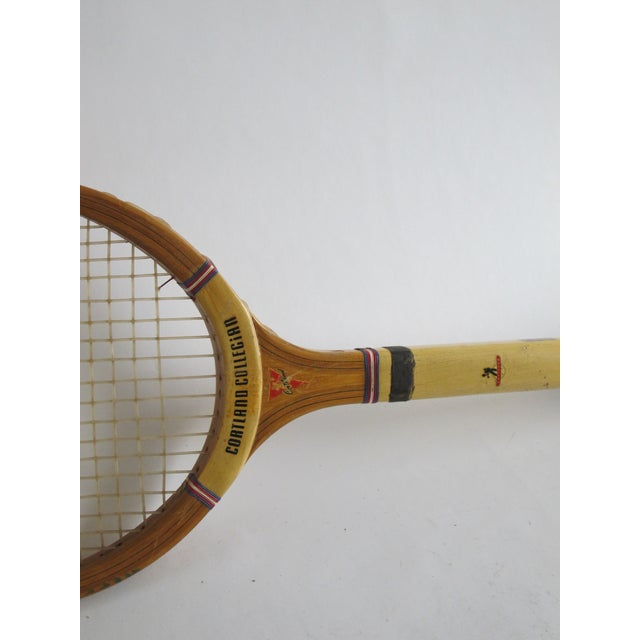 Cortland Collegian Tennis Racquet - Image 5 of 6