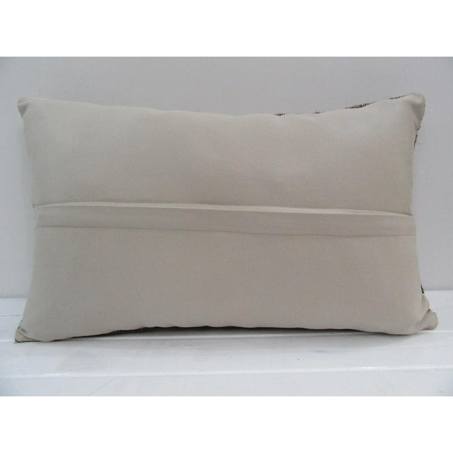 Islamic Vintage Handmade Turkish Kilim Pillow Cover For Sale - Image 3 of 4