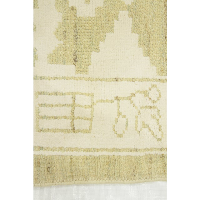 Contemporary Persian Oushak Rug - 10′ × 13′9″ For Sale - Image 10 of 12