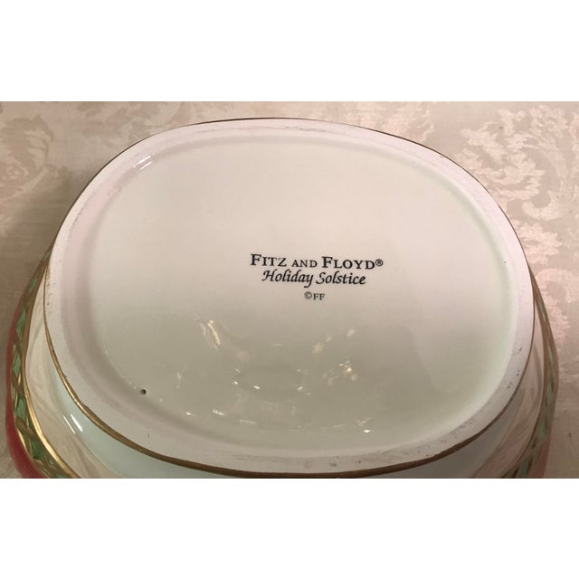 Fitz & Floyd Holiday Covered Serving Dish - Image 11 of 11