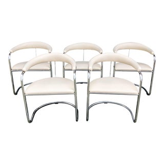 Anton Lorenz for Thonet Dining Chairs - Set of 5