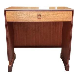 """Mid Century Modern """"G-Plan"""" Custom Made Desk C.1970 For Sale"""