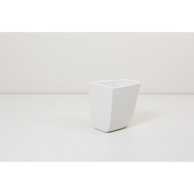 Ceramic Pair of Malcolm Leland Planters for Architectural Pottery, Usa, 1960s For Sale - Image 7 of 8