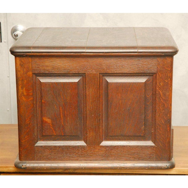Late 19th Century Desk Top File Cabinet For Sale - Image 4 of 9