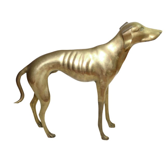 Brass Whippet or Greyhound - Image 1 of 6