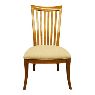 Late 20th Century Thomasville Furniture Cinnamon Hill Collection Mission Style Dining Side Chair For Sale