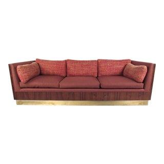 Exquisite Milo Baughman Rosewood Sofa