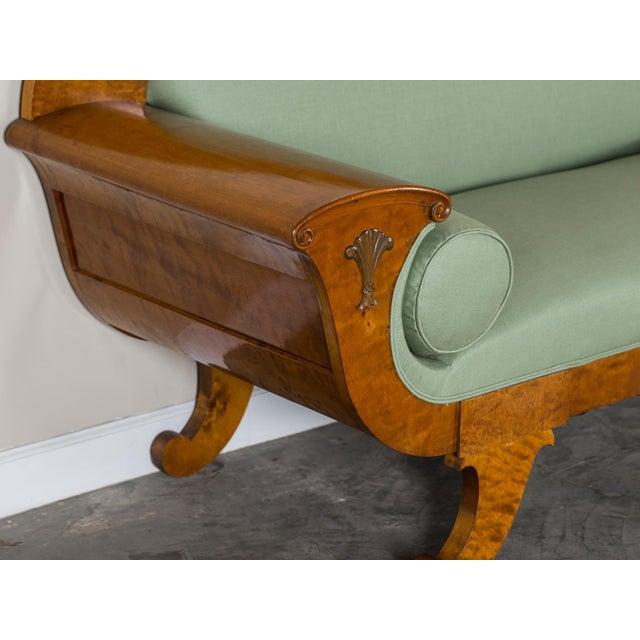 1920s 1920s Swedish Grace Biedermeier Satinwood Sofa For Sale - Image 5 of 11