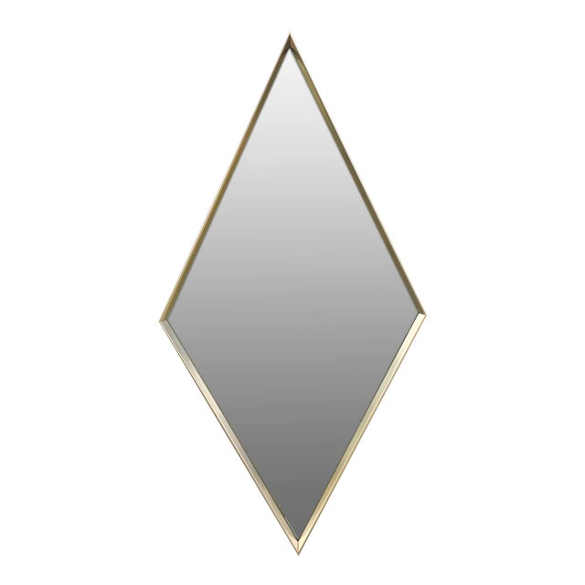 Donnelly-Kelley Mid Century Iconic Diamond Mirror For Sale