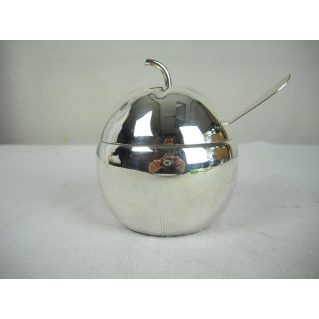 Silverplate Marmalade Server, 4 Pieces For Sale - Image 4 of 9