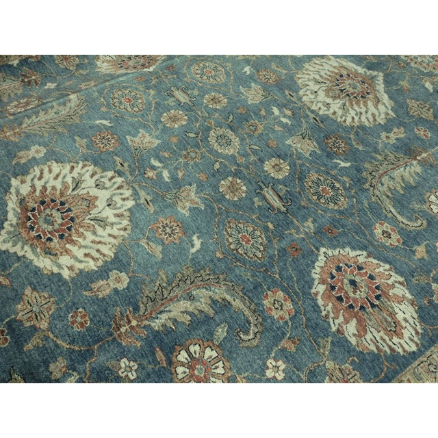 "Hand-Knotted Indo-Persian Rug- 8'1""x 9'5"" - Image 6 of 10"