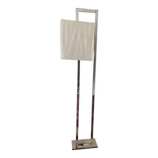 Surya Bethune Silver Floor Lamp For Sale